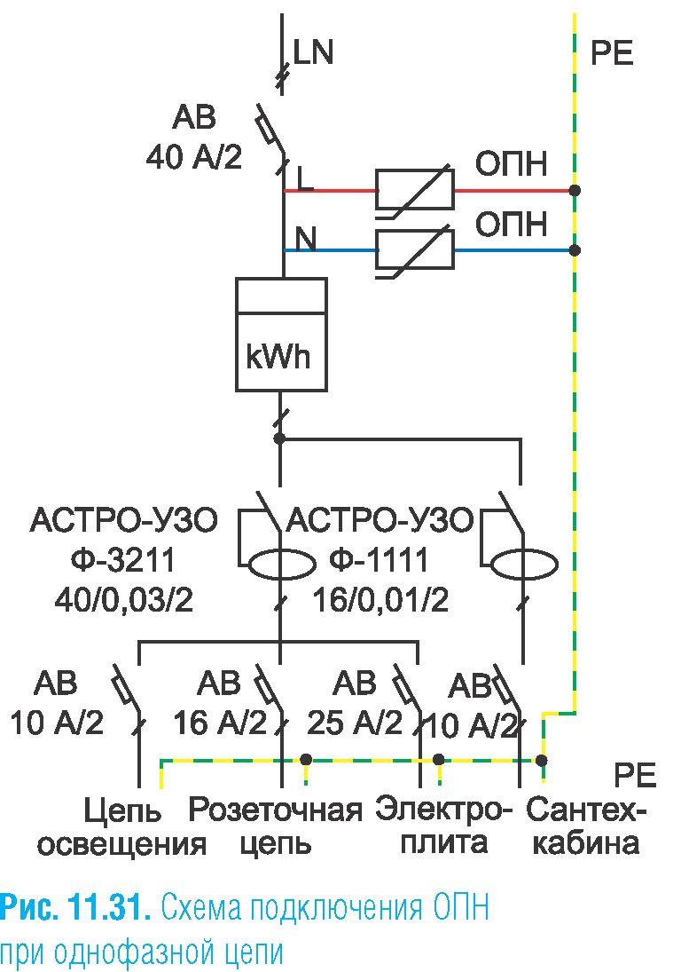 Схема подключения один дома 2