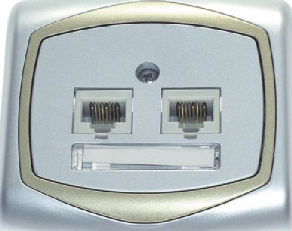 розетка для интернет кабеля